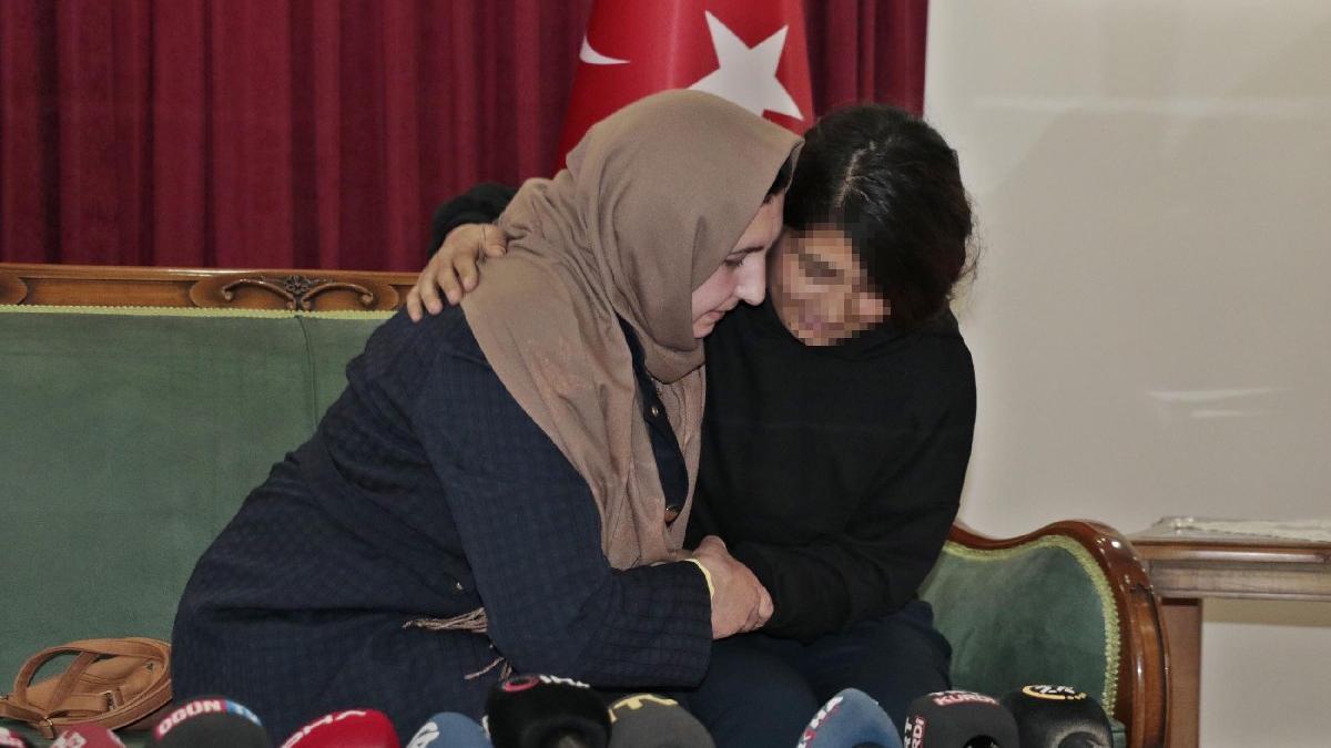 PKK'nın kaçırdığı iki genç daha ailesine kavuştu