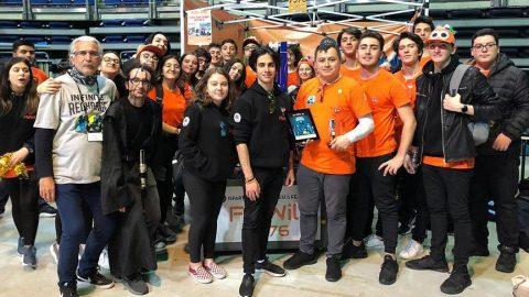 Uluslararası robot yarışması FRC'de ödüller sahiplerini buldu