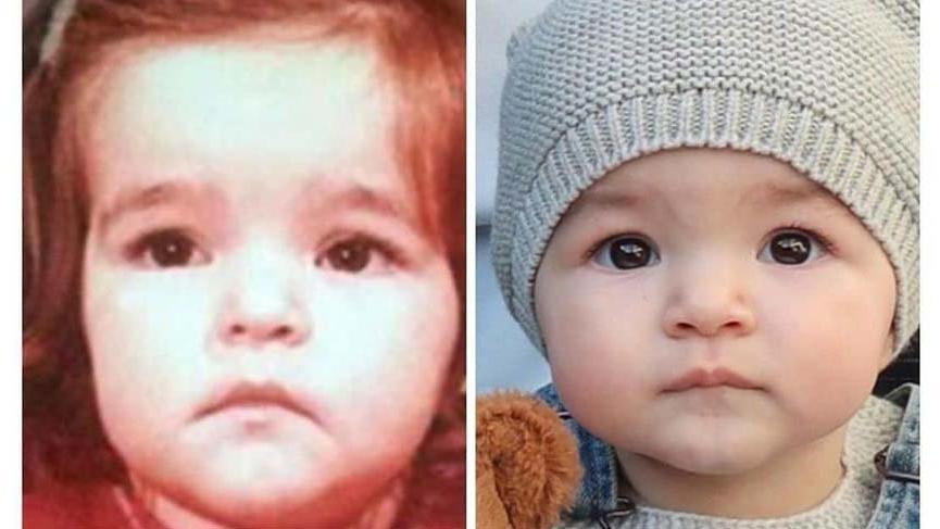 Bengü ve kızı Zeynep'in inanılmaz benzerliği