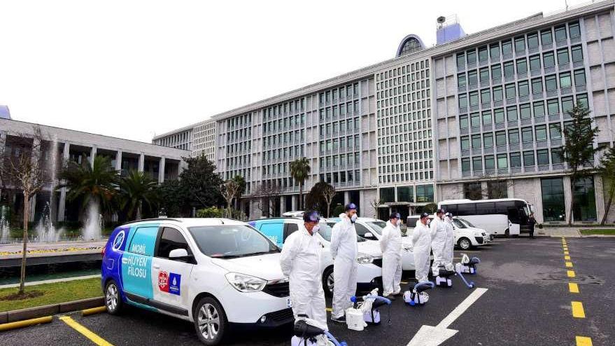 İBB'den 'corona virüsü' alarmı: Çalışmalar hızlandı