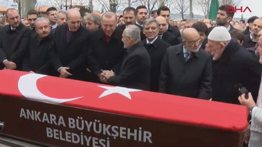 Şevket Kazan son yolculuğuna uğurlandı... Cenazeye Erdoğan ve Gül de katıldı