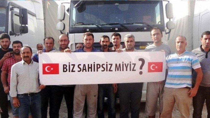 Lütfabad'da mahsur kalan Türk şoförlerin bir kısmı ülkelerine döndü