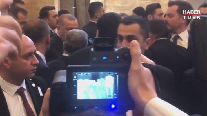 Cumhurbaşkanı Erdoğan'a corona virüsüne karşı termal kameralı takip