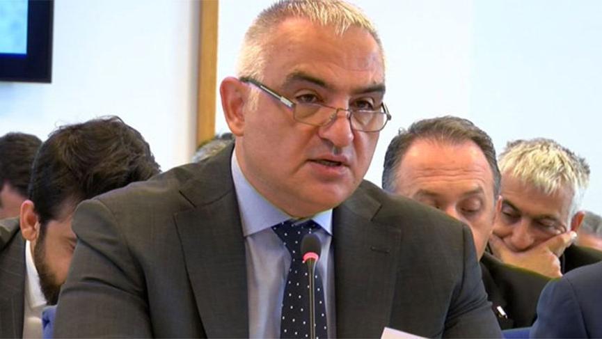 Turizm Bakanı Ersoy açıkladı! Gemilerin yanaşmasına izin verilmedi