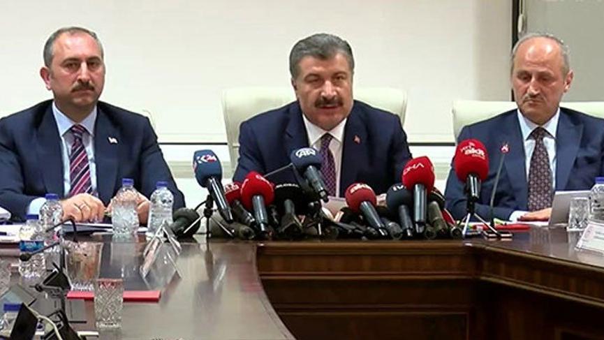 Sağlık Bakanı Koca açıkladı! Türkiye'de Corona virüsü vaka sayısı yükseldi