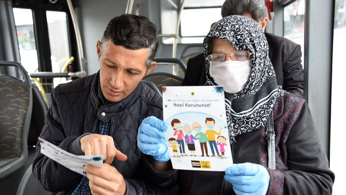 Belediyelerden corona virüsü için dikkat çeken çalışmalar