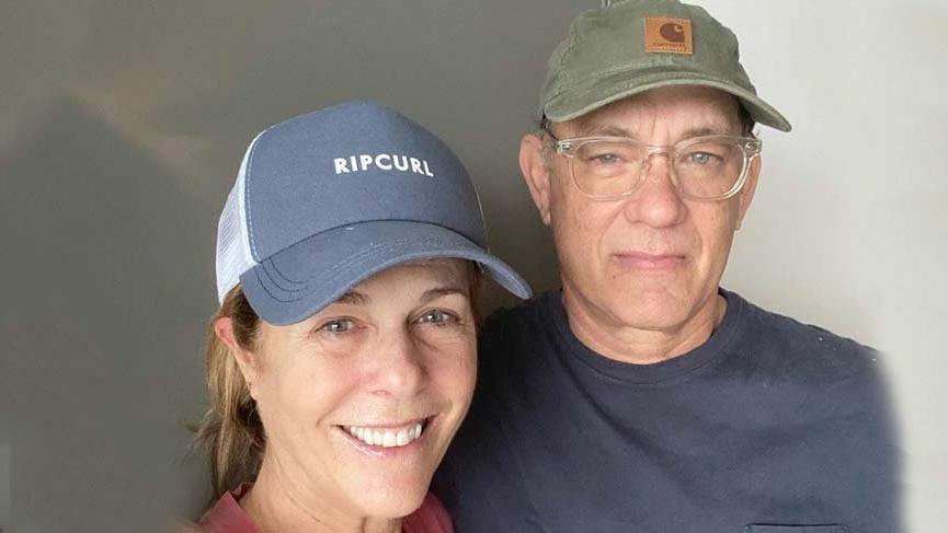 Tom Hanks ve eşi Rita Wilson karantina altındayken fotoğraf paylaştı