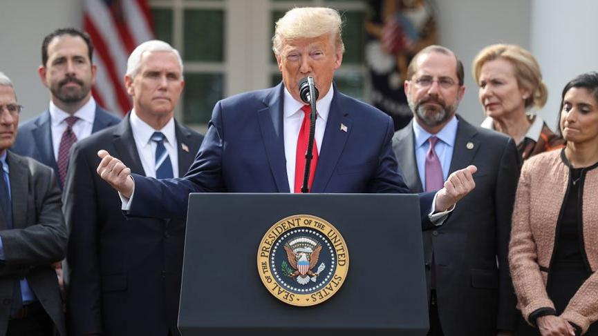 Trump 'ulusal acil durum' ilan etti!