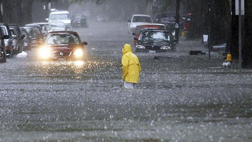 Meteorolojiden sel uyarısı: Kuvvetli yağışlar, eriyen karlarla birleşiyor