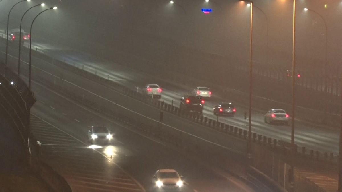 İstanbul sise gömüldü! Yarın kış geliyor...