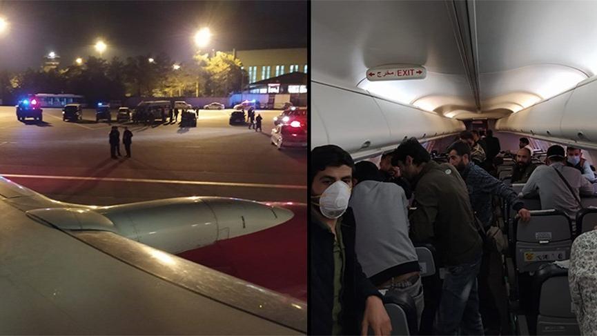 Bağdat-İstanbul uçağı Esenboğa'ya indirildi