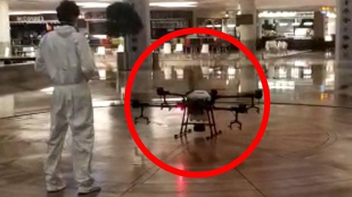 Corona virüse drone ile önlem