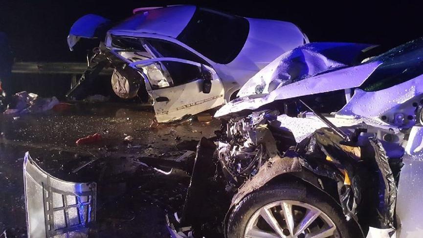 Feci kaza! 4 ölü, 6 yaralı
