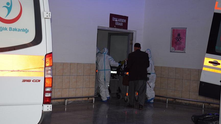 Malatya'da umreden dönen vatandaşlar hastaneye sevk edildi