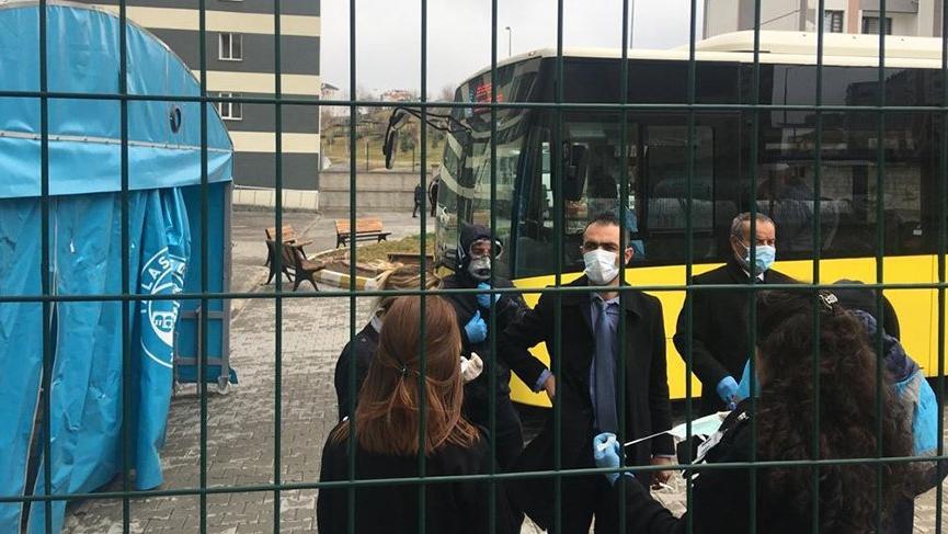 Umreden gelen 315 kişi Kayseri'de karantina altına alındı