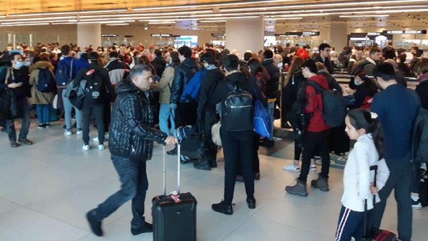 İngiltere'den gelen yolcudan dikkat çeken karantina açıklaması!
