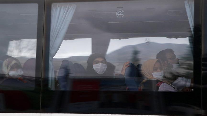 Binlerce kişi karantinada, onlar evlerine gönderildi