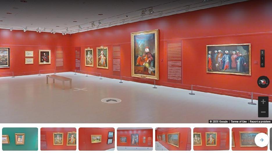 Rahmi M. Koç Müzesi ve Pera Müzesi'nden online hizmet