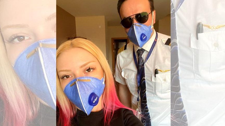 Ece Seçkin ve pilot nişanlısı kendilerini karantinaya aldı