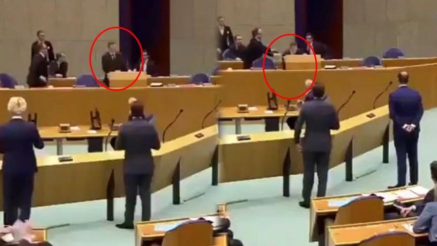 Hollanda Sağlık Bakanı Bruins, Corona virüsü oturumunda yere yıkıldı