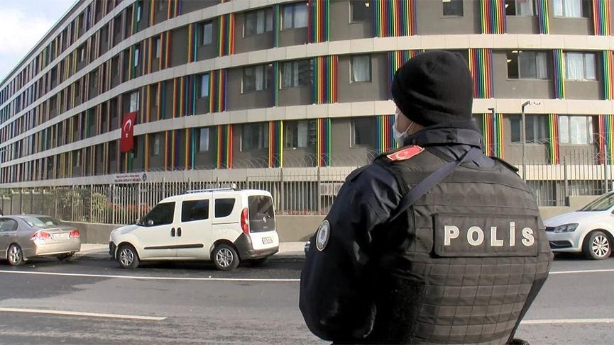 Karantina için 2 bin 300 polis görev yapacak
