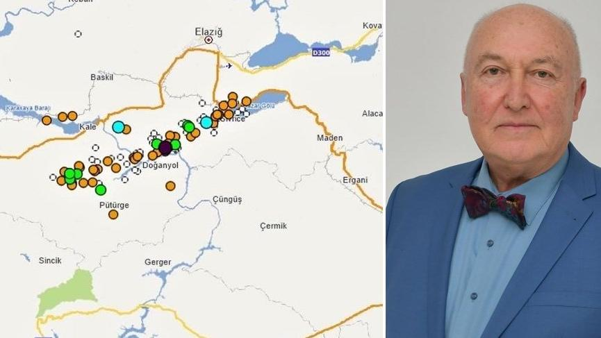 Prof. Dr. Ahmet Ercan'dan Elazığ depremi açıklaması!