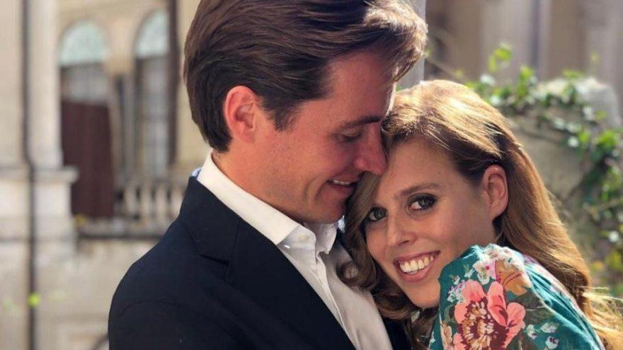 Prenses Beatrice'in düğününe corona virüsü engel oldu
