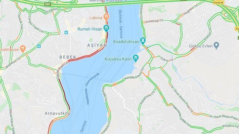 İstanbul trafiğinde korkutan görüntü