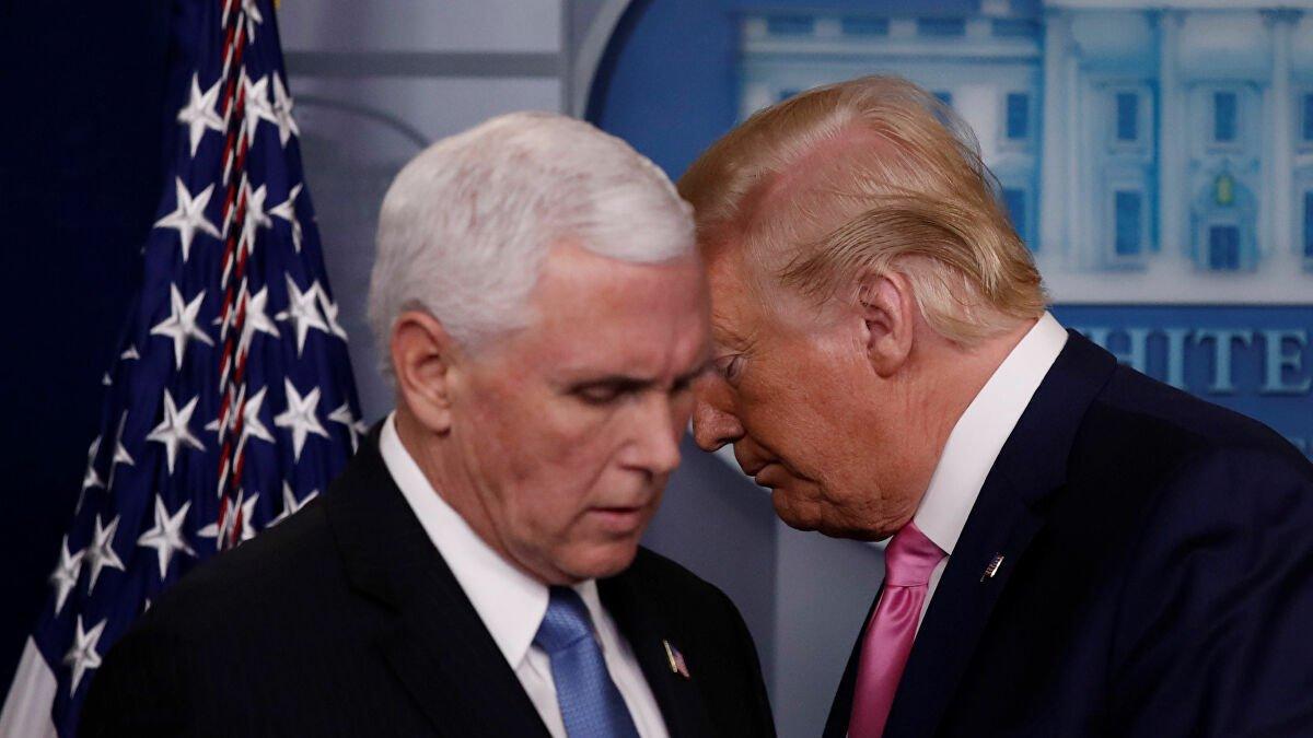 ABD'de corona alarmı! Pence ve Trump'ın burunlarının dibinde ortaya çıktı