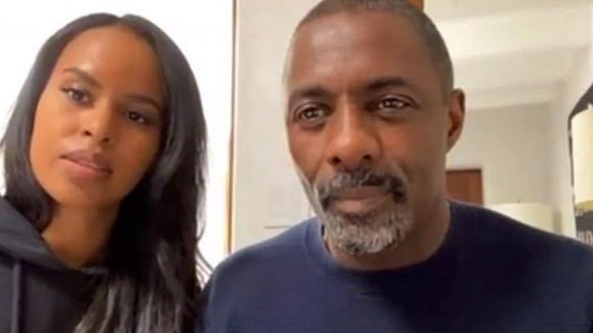 Idris Elba'dan sonra karısı da corona virüsü kaptı