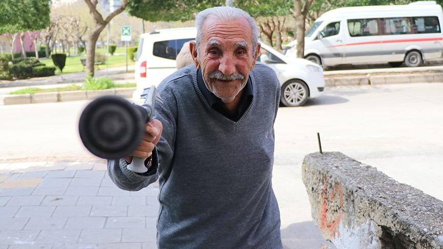 78 yaşındaki adam böyle direndi: Corona virüsünü duymadım