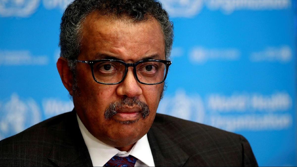 Dünya Sağlık Örgütü Başkanı: Salgını durdurmanın tek yolu...
