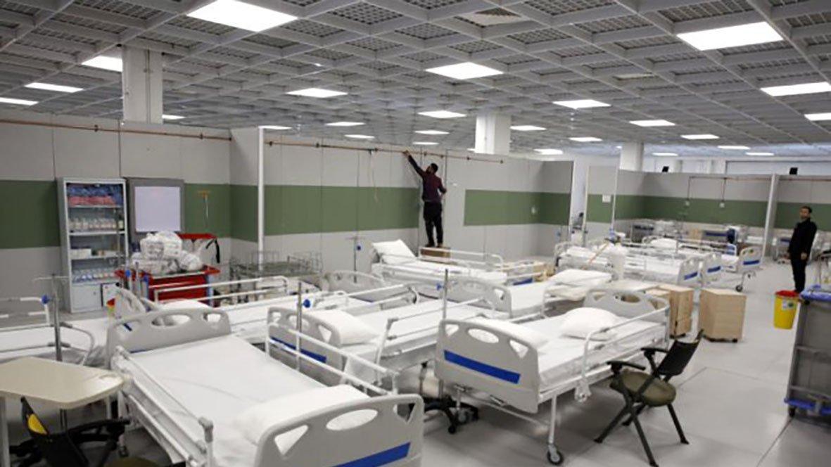 İran'da dünyanın en büyük AVM'si corona hastanesi oldu