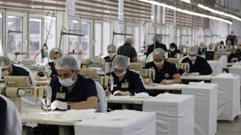 Milli Savunma Bakanlığı, maske üretimini iki katına çıkardı