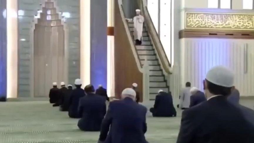 Beştepe Camii'nde cuma namazı - Güncel haberler