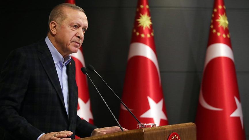 Son dakika... Cumhurbaşkanı Erdoğan'dan kritik corona virüsü salgını açıklaması