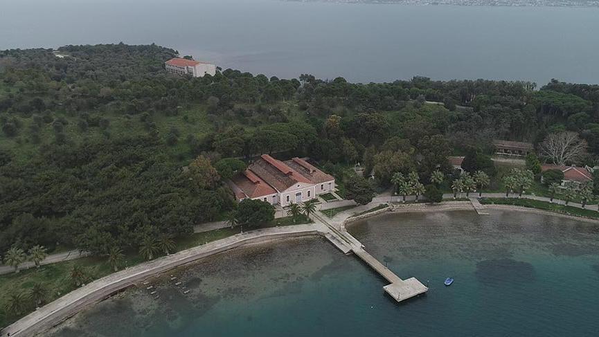 Müzeleştirilecek olan Urla Karantina Adası