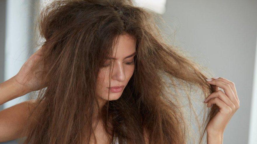 Yaz aylarında kabaran saçlar için öneriler…