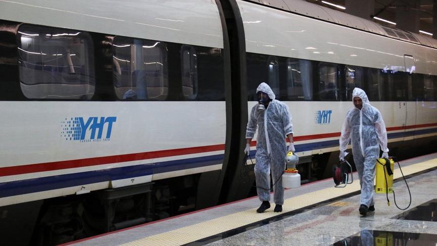 Tren seferleri geçici olarak durduruldu