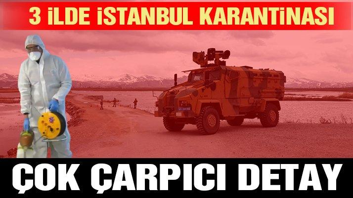 Karantina sayısı artıyor… Çok çarpıcı İstanbul detayı