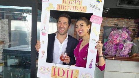 İdil Fırat'tan online doğum günü kutlaması