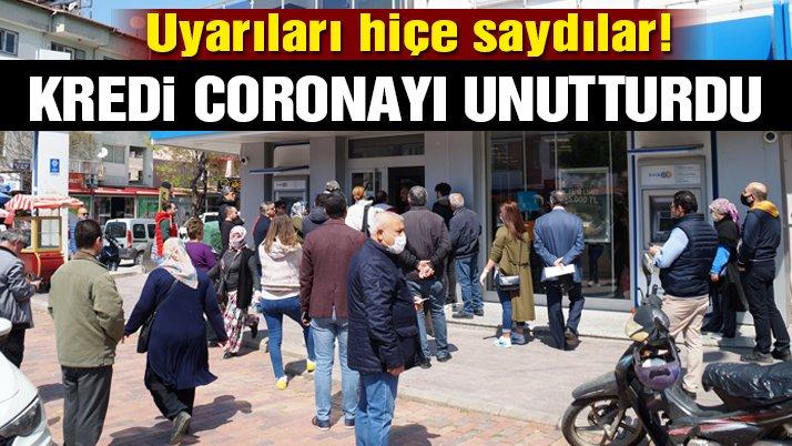 Kredi coronayı unutturdu!
