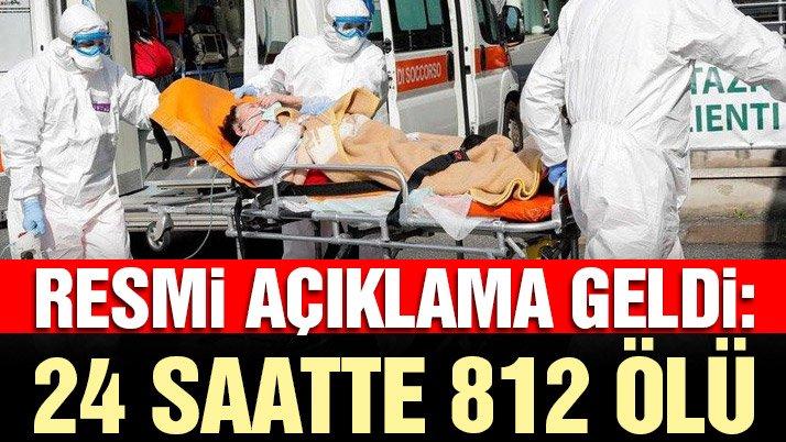 Son dakika… İtalya'da 812 kişi daha öldü! Vaka sayısı 100 bini aştı