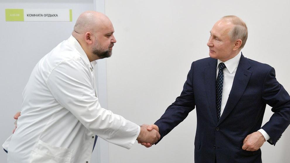 Putin'in görüştüğü doktorda corona çıktı