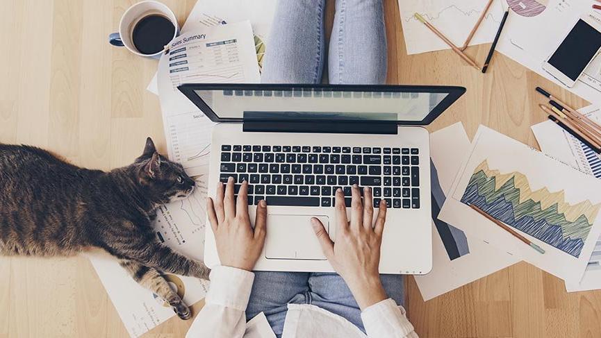 Evden çalışmak için 5 etkili yöntem