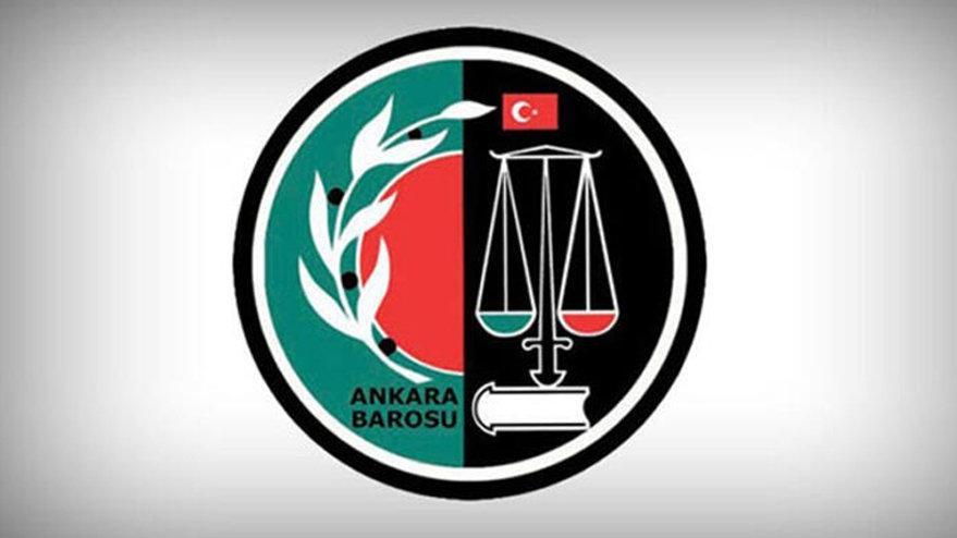 Ankara Barosu'ndan bakanlığa tepki: Hayretle izliyoruz - Son dakika haberleri