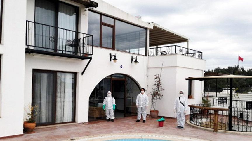 Bodrum'da üç otel sağlık personellerine tahsis edildi