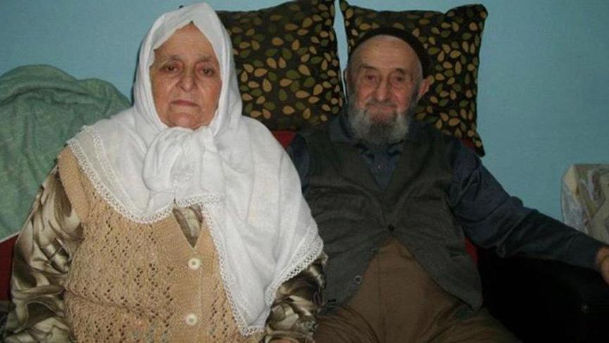 72 yıllık çift, 49 saat arayla hayatını kaybetti
