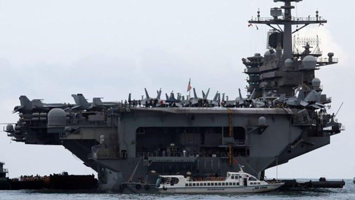 Corona virüsü tespit edilen ABD uçak gemisi için flaş karar!