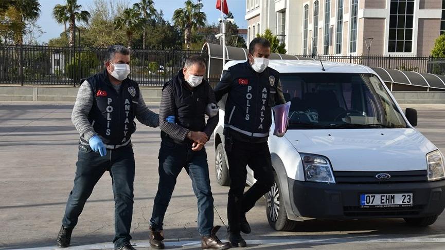 'Coronalıyım' diyerek polise tüküren şüpheli tutuklandı